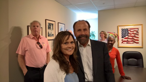 Senator Jerry Hill & Julie Miller CNA Secretary